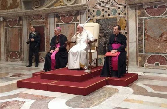Director Ejecutivo FBAC es recibido por el Papa Francisco