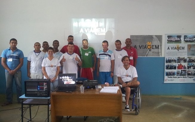 APAC of Caratinga starts new class of the Program The Journey of the Prisoner